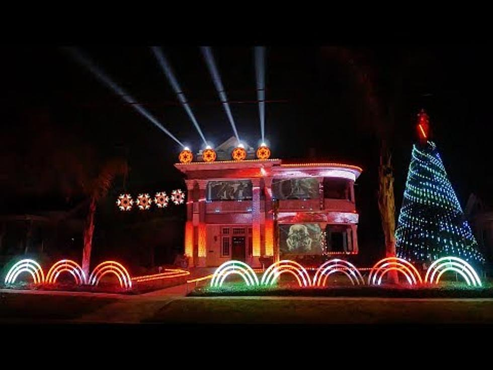star wars house in san antonio lights up christmas